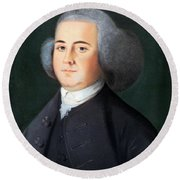 John Adams (1735-1826) Round Beach Towel