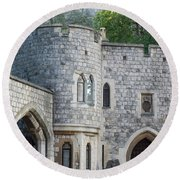 Windsor Castle Round Beach Towel