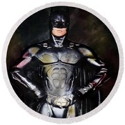 Batman Round Beach Towel