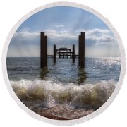 Brighton Round Beach Towel