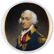Horatio Gates, C1728-1806 Round Beach Towel