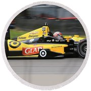 Indycar Performance Round Beach Towel