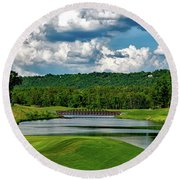 Ross Bridge Golf Course - Hoover Alabama Round Beach Towel