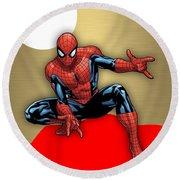 Spiderman Collection Round Beach Towel