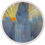 The Water Babies Round Beach Towel