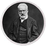Victor Hugo (1802-1885) Round Beach Towel