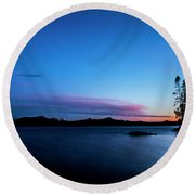 Waldo Lake Round Beach Towel