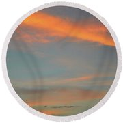 9.17 Pm June 6-2016  Round Beach Towel