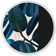 What Doesn't Kill Leaves A Scar Round Beach Towel