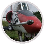 A - 4 Skyhawk - 2 Round Beach Towel