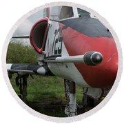 A - 4 Skyhawk - 3 Round Beach Towel