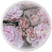 A Bouquet For My Love 47 Round Beach Towel