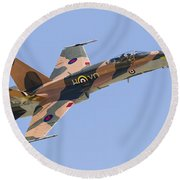 A Cf-188 Hornet Of The Royal Canadian Round Beach Towel
