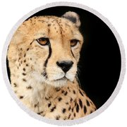 A Cheetah Named Jason Round Beach Towel