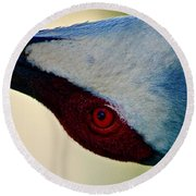 A Different Perspective Round Beach Towel