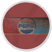 A Little Tied But Still A Classic Round Beach Towel