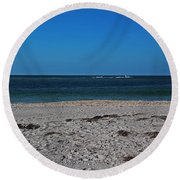 A Lovely Point Of View Round Beach Towel
