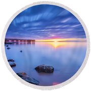 A New Dawn Round Beach Towel