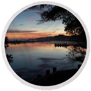 A New Day... Round Beach Towel