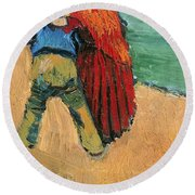 A Pair Of Lovers Round Beach Towel
