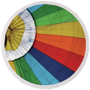 A Patch Of Sky Round Beach Towel