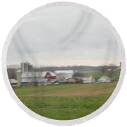 A Place Of Harmony Round Beach Towel