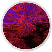 A Quiet Place 12 Round Beach Towel