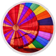Temecula, Ca - A Rainbow Of Colors Round Beach Towel