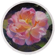 A Rose For Aunt Rosie Round Beach Towel
