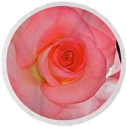 A Rose For Mary Round Beach Towel