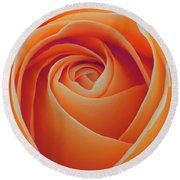 A Rose Like None Other Round Beach Towel