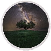 A Sky Full Of Stars Round Beach Towel