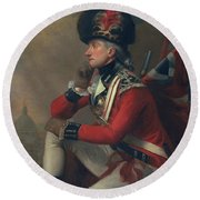A Soldier Called Major John Andre Round Beach Towel by English School