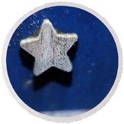 A Star Reborn Round Beach Towel