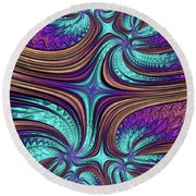 A Touch Of Magic Round Beach Towel