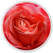A Unique Rose Just For You Round Beach Towel