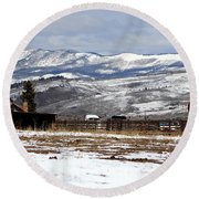 A View To Remember Round Beach Towel