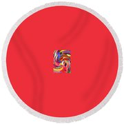 AB Round Beach Towel