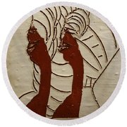 Abakyala - Women - Tile Round Beach Towel