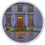 Abbey Road Recording Studios Round Beach Towel