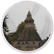 Abbot's Kitchen Round Beach Towel