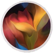 Abstract 051816 Round Beach Towel
