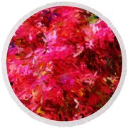 Abstract 052310 Round Beach Towel