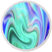 Abstract 0902 A Round Beach Towel