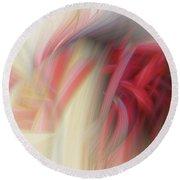 Abstract 0902 J Round Beach Towel