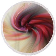 Abstract 0902 K Round Beach Towel