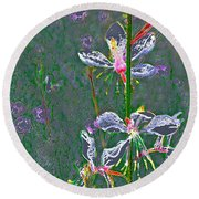 Abstract 171 Round Beach Towel
