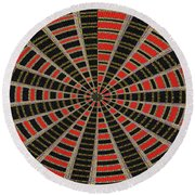 Abstract #2257-5 Round Beach Towel