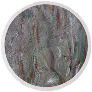 Abstract 409 Round Beach Towel