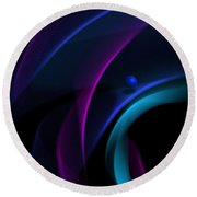 Abstract 41 Round Beach Towel